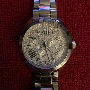 Silver Bling Watch